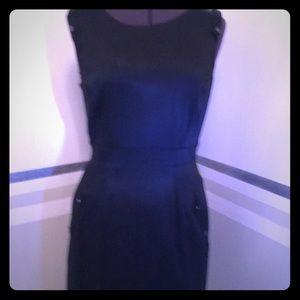 Antonio melani  sleeveless black dress size 6